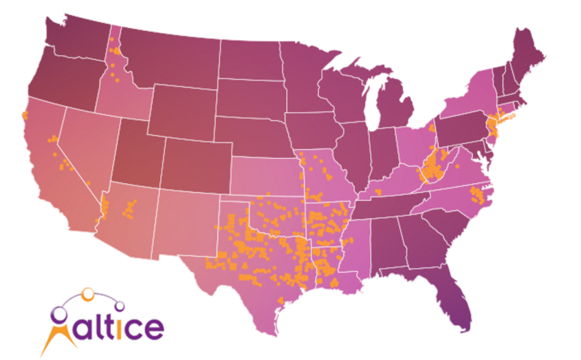 Altice - US Footprint
